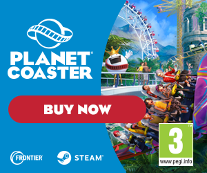 Planet Coaster Buy Now Banner